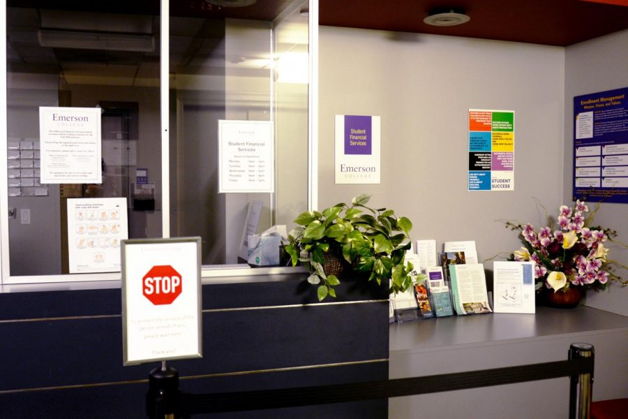 The Office of Financial Aid in the Union Bank Building.