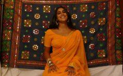 Mariyam Quaisar poses during a photoshoot.